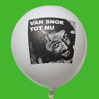 Fotoballon voor jarige
